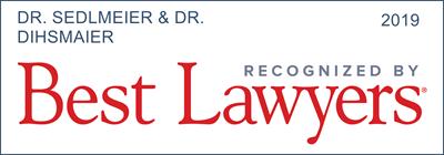 Sedlmeier/Dihsmaier - Rechtsanwälte für IT - Best Lawyers 2019 DE 2